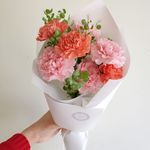 [어버이날] 살몬 카네이션 꽃다발