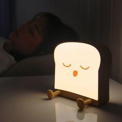 LED 식빵 감성 수면등 무드등 2종