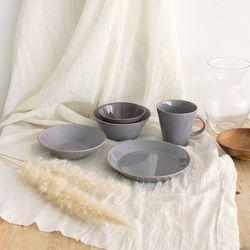바인 싱글세트 5p 3종 파스텔 1인식기 혼밥세트 자취생그릇