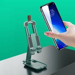 (리빙그로)휴대용 접이식 핸드폰/패드 거치대(그린)