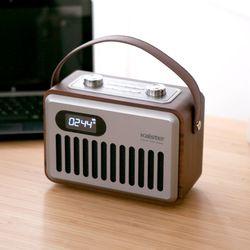 FM라디오 알람시계 USB SD카드 블루투스 스피커 BTX10