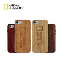 내셔널지오그래픽 아이폰6 브랜드로고 네이처 우드 케이스
