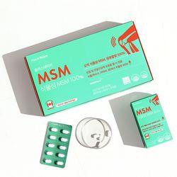 캐나다산 관절 영양제 식물성 MSM 100 (180정)