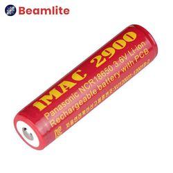 2900mAh 18650 리튬이온 배터리 3.7v 보호회로 장착