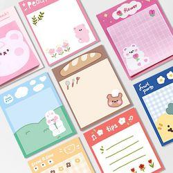캐릭터 소분 포스트잇 SET (125매) - 3종 택1