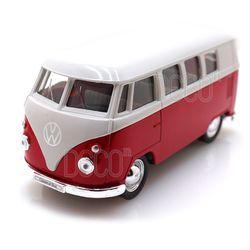 웰리 1963 폭스바겐 T1 버스 다이캐스트 풀백