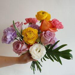 [꽃 정기구독] 예쁜건 더 크게 한아름 L 6회