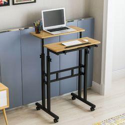 하스민퍼니처 카라스탠딩F 60X50 높이조절책상 노트북