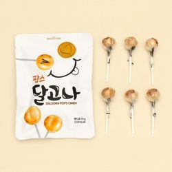 달고나 팝스 막대사탕 55g (6개입)