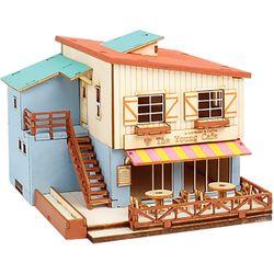 187 목재 입체퍼즐 - 영공방 카페 하우스