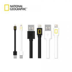 내셔널지오그래픽 USB 케이블 8핀(12cm)