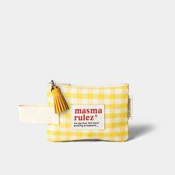마약 스트랩 파우치 스프링 미니 - Yellow