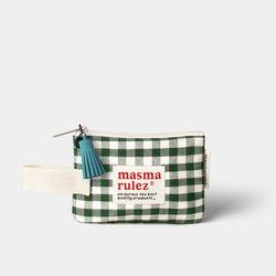 마약 스트랩 파우치 스프링 미니 - Green