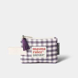 마약 스트랩 파우치 스프링 미니 - Purple