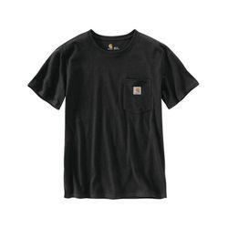 칼하트 W 포켓 반팔티 블랙 반팔 103067-001