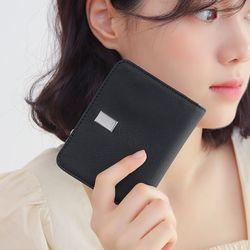 파워수납 여성 반지갑 블랙(AG2H0501DRBB)