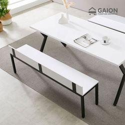 [수도권무배] 디아 스틸 1600 벤치 식탁의자