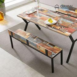 [수도권무배] 디아 스틸 1400 벤치 식탁의자