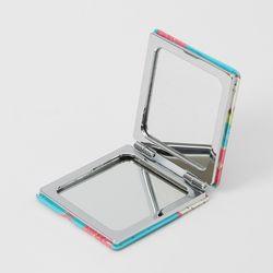 프루츠 2배확대 사각 양면 손거울