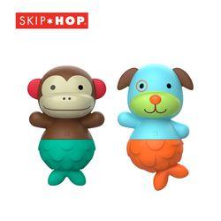 [스킵합] 유아 물놀이 장난감 인형 맞추기 원숭이강아지 세트