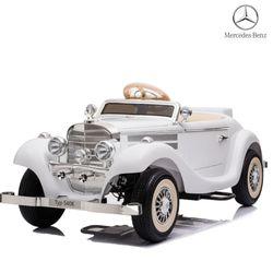 대호 벤츠 클래식 540K 부모와 함께타는 유아전동차 일반바퀴