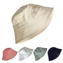 버킷햇 기본 무지 데일리 벙거지 여자 봄 여름 가을 숏챙 모자