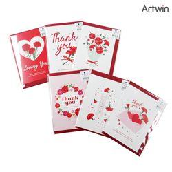 1000 감사 카네이션 카드 (1판-30EA)