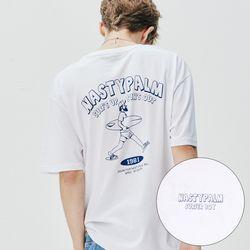 서핑 보이 로고 티셔츠 화이트