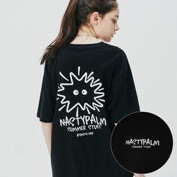 스미스 팝 로고 티셔츠 블랙