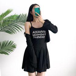 패션 원피스 수영복(3pcs)