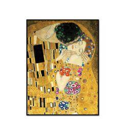 키스 (디테일) The Kiss (Detail) 27.9x35.6cm