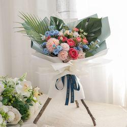 바렌티스탠드꽃다발 50cmP 조화 꽃 축하 선물 FMBBFT