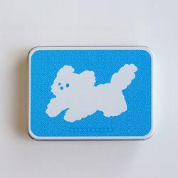 [틴케이스] 뭉개 달리기 (스티커 10매입) 악세사리 보관 휴대