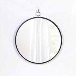 우드 카운티 링고리 모던 벽거울 420-블랙 프레임