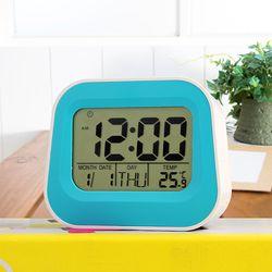 베이직 디지털 탁상시계 (블루)