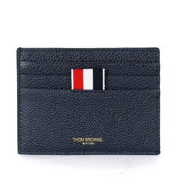 사선 스트라이프 카드지갑 네이비 MAW220A