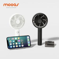 무아스 스마트폰 거치대 휴대용 선풍기 MF-P5