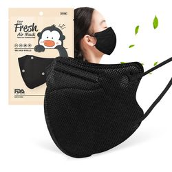 에버프레쉬 마스크 소형 KF94 블랙마스크 50매