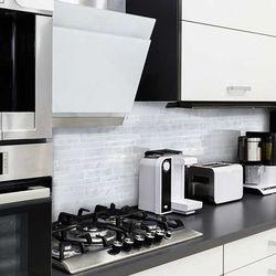 누구나 간편설치 3D입체 회백색벽돌 시트벽지30.5cm