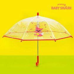 핑크퐁 음표패턴 47 우산-핑크