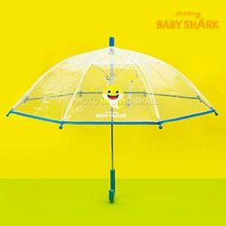 아기상어 왕관패턴 47 우산-블루