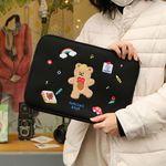 NEMO 34000 댄싱베어 노트북 파우치 13인치 휴대용파우치