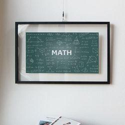 ah619-투명액자58CmX38Cm수학