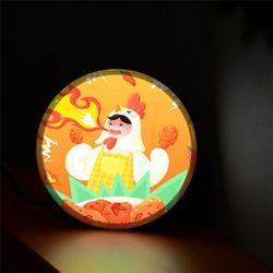 nh970-LED액자25R눈물나게맵닭