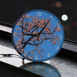 nf735-LED시계액자25R풍요로운감나무