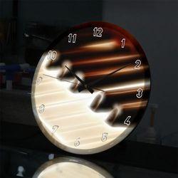 nf734-LED시계액자35R빛나는피아노