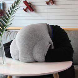 O-pillow 낮잠 비즈 타조 베개 쿠션