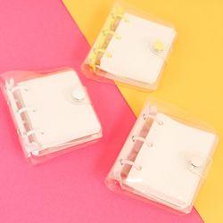 미니 3공 포카 다이어리 바인더 3color + 추가속지80매