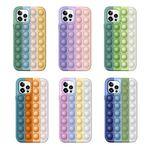 아이폰12 PRO MAX 11 SE2 8 컬러 푸쉬팝 팝잇 케이스