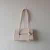 데일리 심플 플랩 사각 숄더백 (2color)